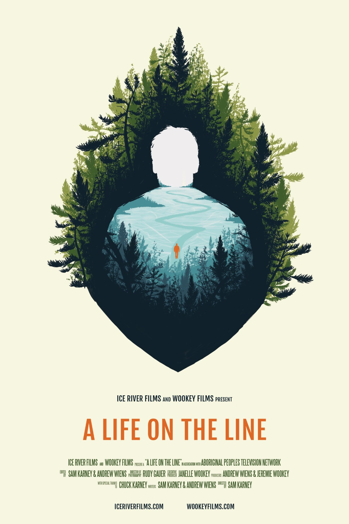 A Life on the Line Poster